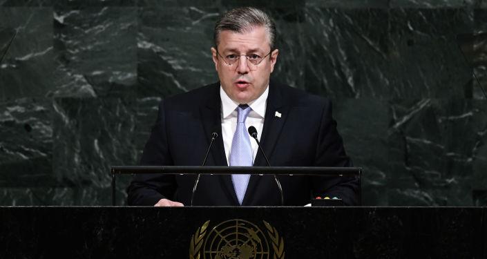 格魯吉亞總理格奧爾基•克維里卡什維利