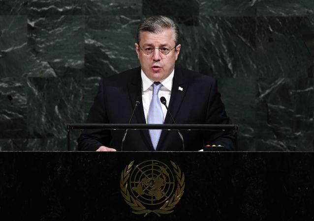 格鲁吉亚总理格奥尔基•克维里卡什维利