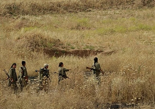 库尔德工人党战士