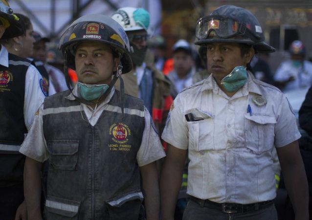 媒体:危地马拉火山喷发后的救援工作终止