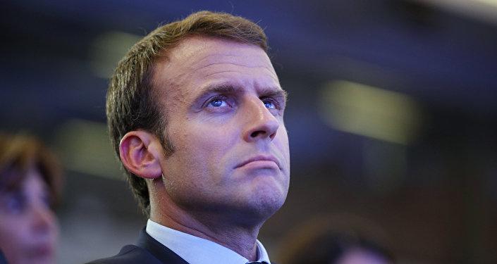 民調:法國總統馬克龍的支持率下滑至26%