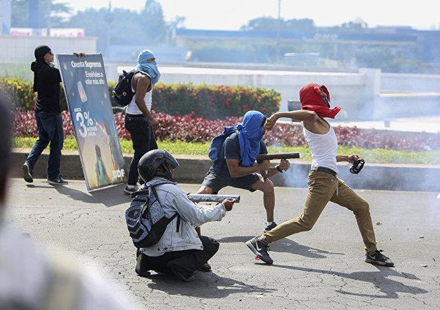 媒體:尼加拉瓜抗議活動中又有5人被打死