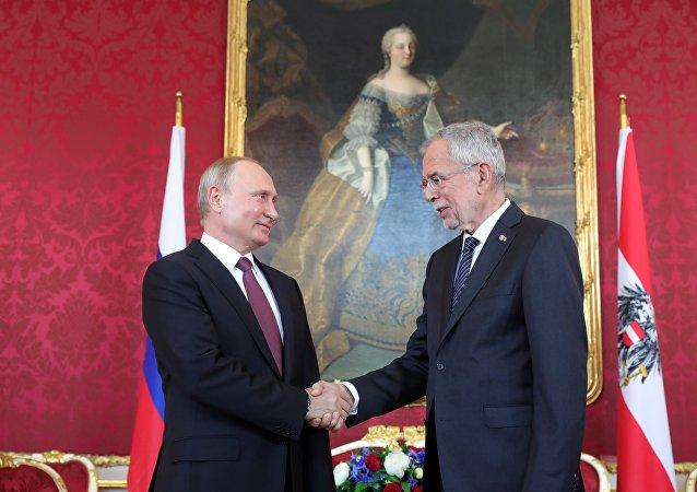 普京:奧地利支持「北溪-2」項目