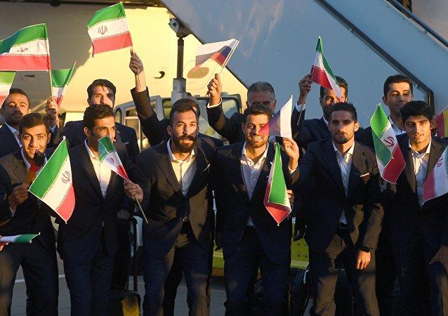 伊朗队成为第一支抵达俄罗斯的2018年世界杯参赛球队