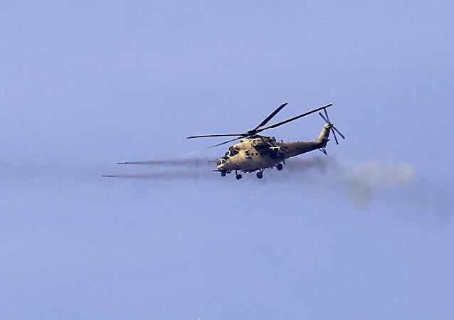 声明:伊拉克空军摧毁叙境内一处IS指挥所