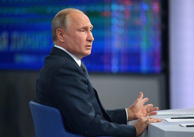 普京表示,俄罗斯有意使俄美关系正常化