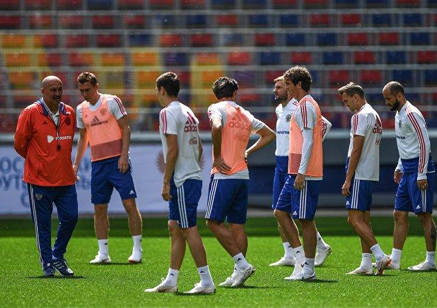 俄罗斯足球队运动员