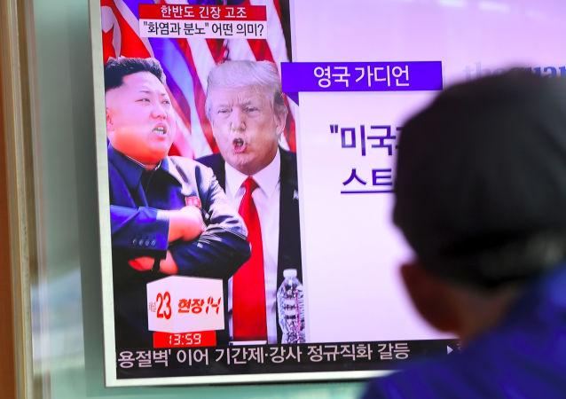 特朗普怀疑中国阻碍美国解决朝鲜问题