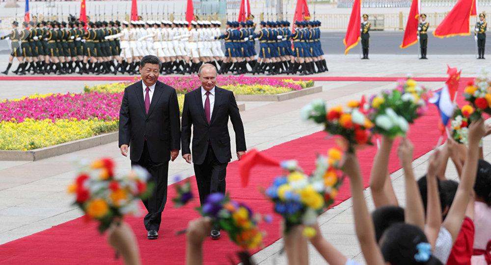 俄罗斯总统普京荣获首枚中国国家级最高荣誉勋章