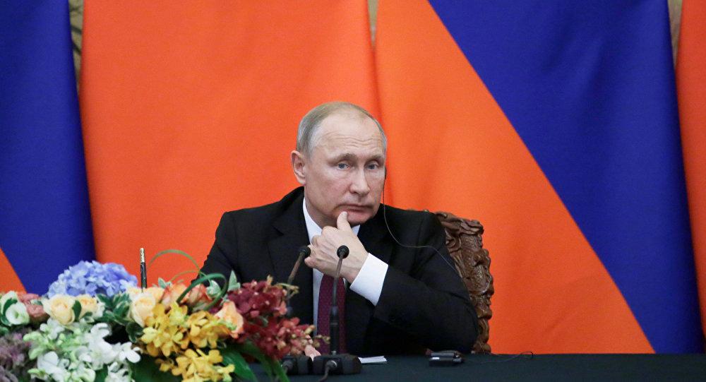普特会开启俄美关系缓和之门 彰显大国国际事务影响力