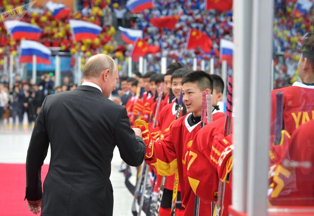 俄羅斯總統弗拉基米爾•普京訪華的高光時刻