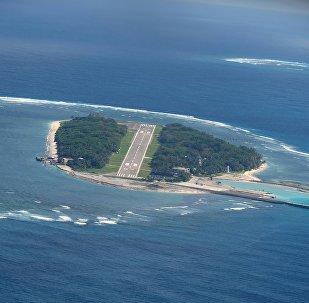 美國軍隊是否將出現在台灣控制下的太平島上?