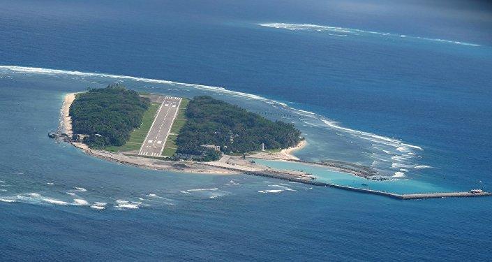 美国军队是否将出现在台湾控制下的太平岛上?