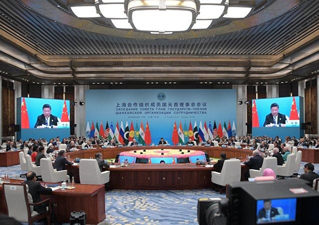 青岛宣言:上合组织成员国将采取措施防止外空军备竞赛