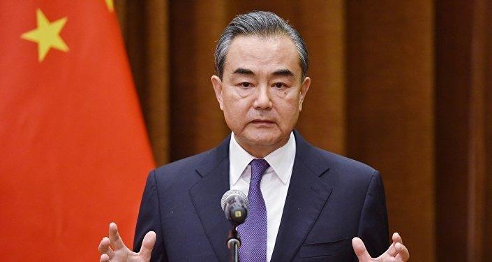 中国外长王毅