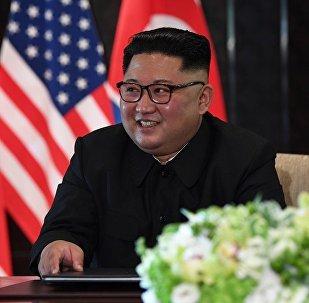 金正恩在新加坡峰会