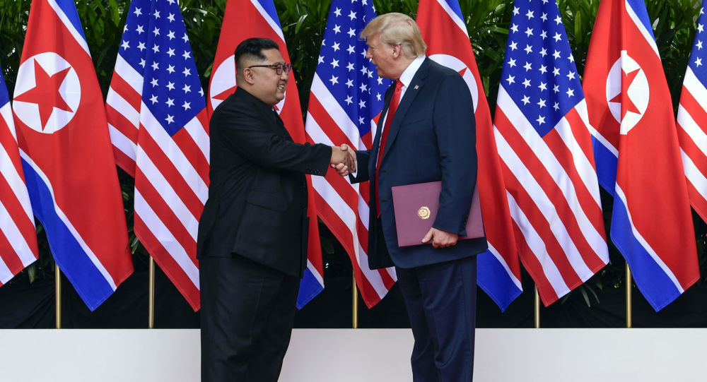 美朝开启通往朝鲜半岛无核化的艰辛之路