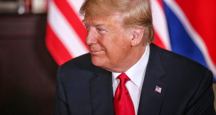 特朗普期待朝鮮近日宣佈啓動無核化進程