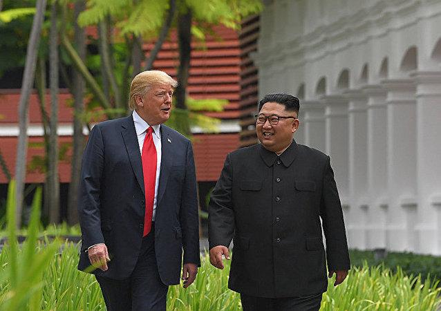 美國家安全顧問稱金特會或將於近兩個月內舉行