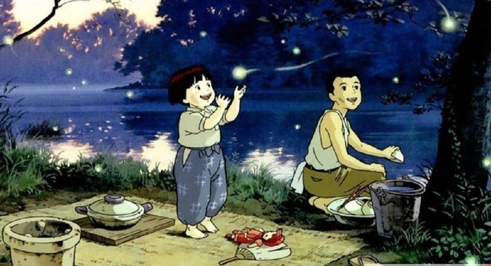 《螢火蟲之墓》被評為史上最佳動畫電影