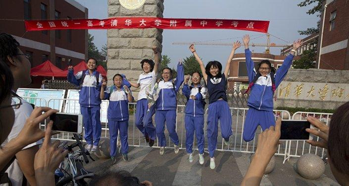 中国:新技术为高考秩序提供保障