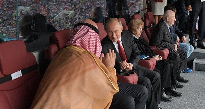 俄總統新聞秘書解秘普京手勢:體育運動中無需為己方勝利而致歉