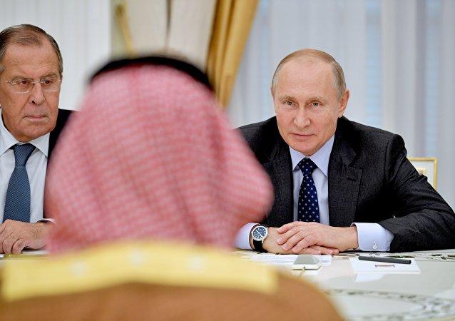 普京与沙特王储