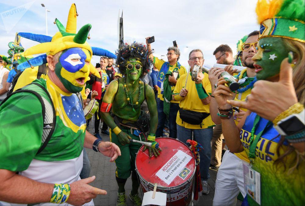 巴西隊球迷