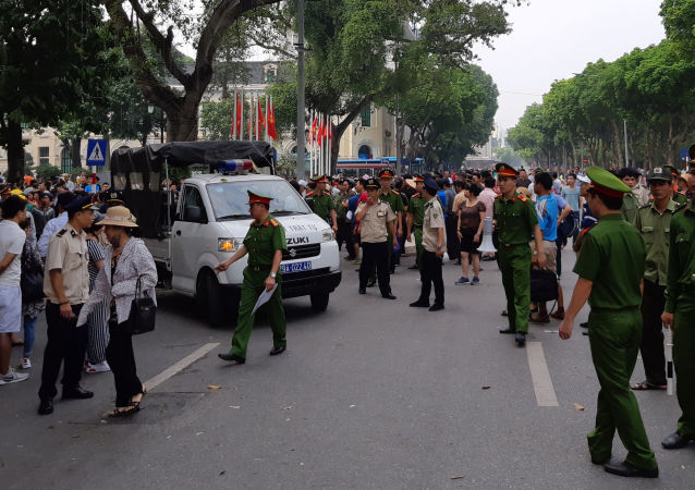 越南反对该法律的大规模抗议活动