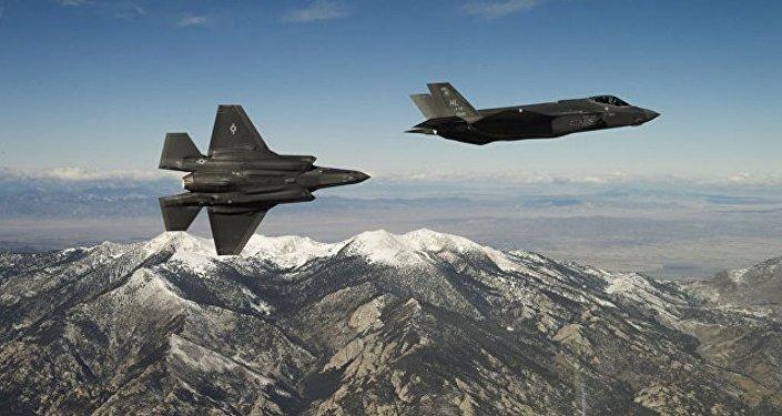 美国战斗机F-35B完成自己历史上的首次军事打击