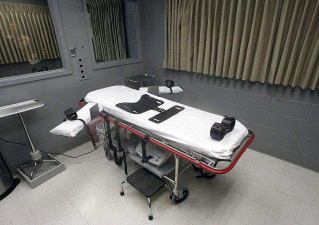Комната для приведения в исполнение смертного приговора