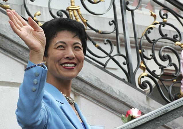 日本宪仁亲王妃久子赴俄观看世界杯 为国家队助威