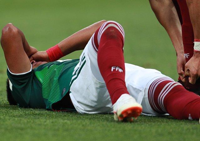 2018年世界杯 墨西哥球员带病上场击败德国队