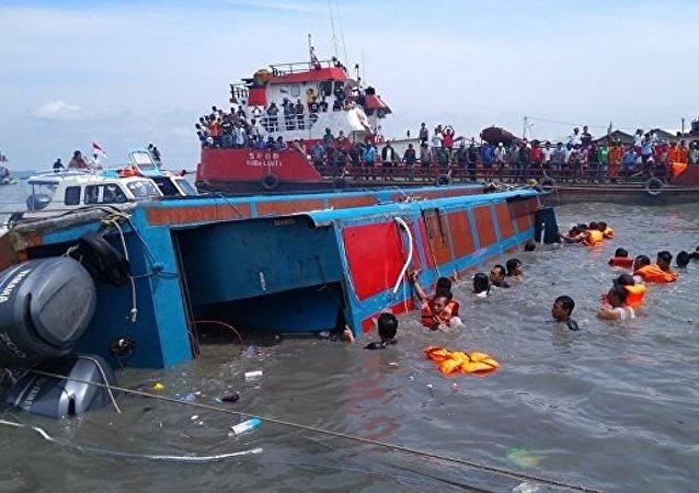 印尼沉船事件已经导致192人失踪