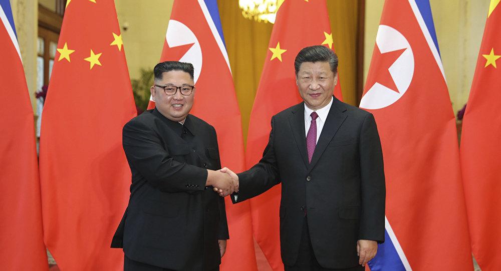 習近平:謀劃中朝友好合作關係 支持朝方政治解決半島問題
