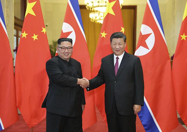 习近平:谋划中朝友好合作关系 支持朝方政治解决半岛问题