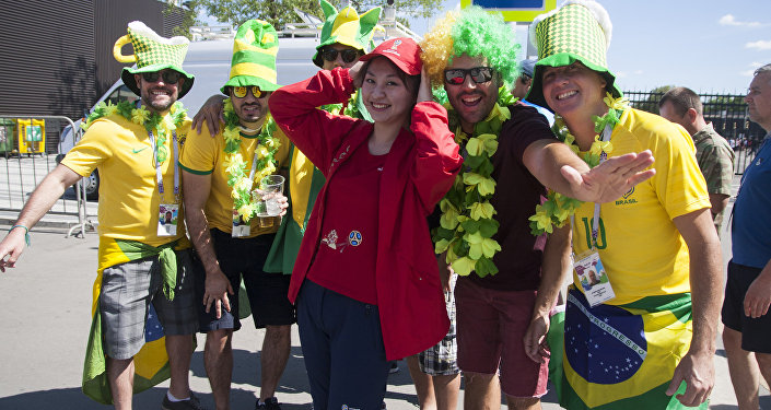 世界杯志願者活動助我圓夢