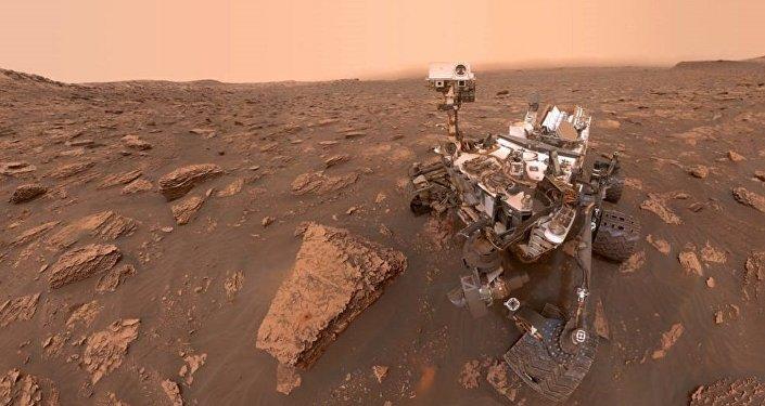美國國家航天局的「好奇號」火星車