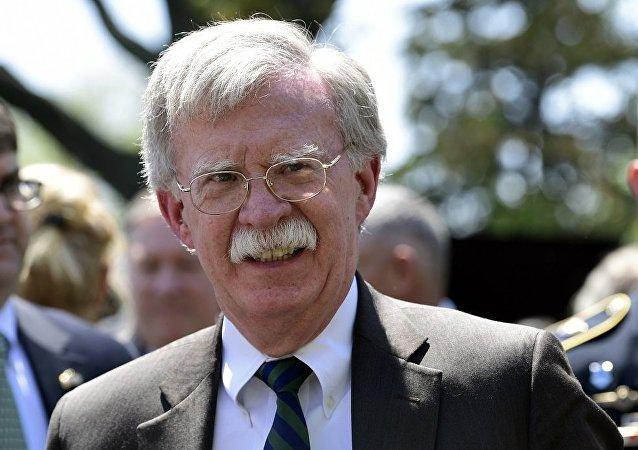 美国总统的国家安全顾问博尔顿