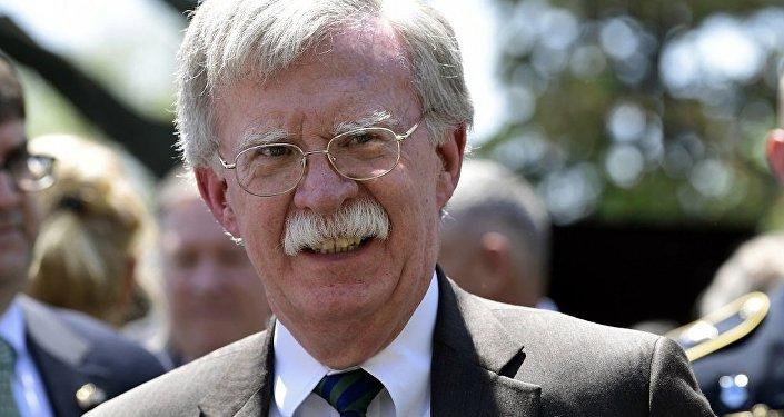 美国总统的国家安全顾问伯尔顿