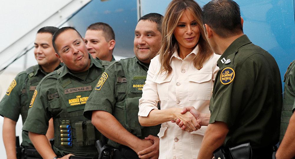 美国第一夫人将再次访问非法移民儿童收容中心