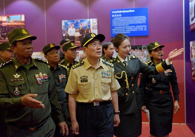 中國對柬埔寨軍援與議會大選無關