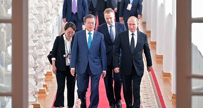 韩国高度评价俄在调解朝鲜问题方面发挥的建设性作用