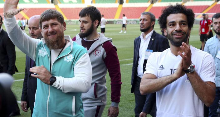 穆罕默德·薩拉赫和拉姆贊·卡德羅夫
