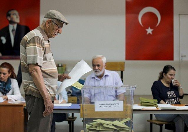 土耳其的总统和议会选举已经开始