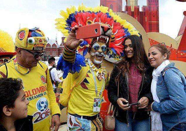 哥伦比亚球迷
