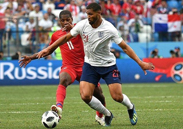 2018世界杯小组赛英国队击败巴拿马队