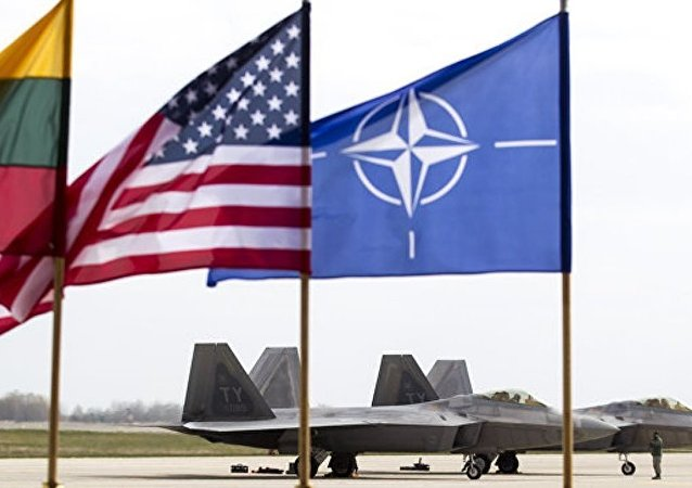 """北约空军""""拉姆施泰因联合""""演习在波罗的海国家上空拉开帷幕"""