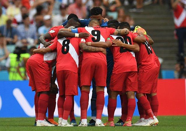 2018年世界杯第三輪小組賽 秘魯隊戰勝澳大利亞隊