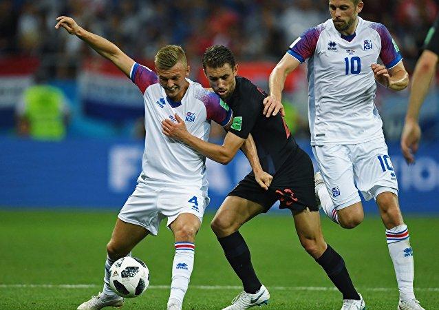 克羅地亞隊小組賽勝冰島
